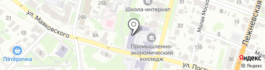 ИВПЭК на карте Иваново