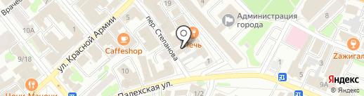 Дербис на карте Иваново