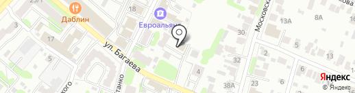 Елисей на карте Иваново