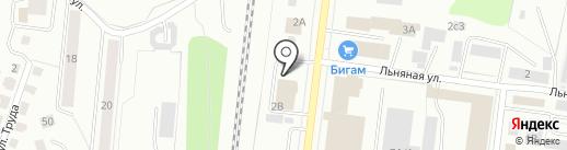 TeamArt на карте Костромы
