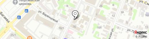 Квазар на карте Иваново