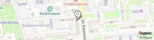 Комплекс на карте Иваново