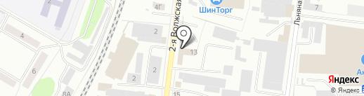 Америка-Азия-Авто на карте Костромы