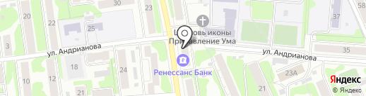 КБ Ренессанс Кредит на карте Иваново