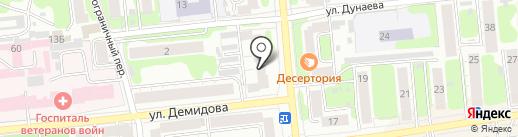Доступные кухни Иваново на карте Иваново