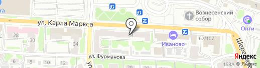 Костромской Ювелирный Завод на карте Иваново