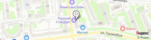 Банк Русский Стандарт на карте Иваново