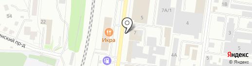 Акрил Лайт на карте Костромы