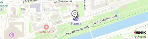 Звездный на карте Иваново