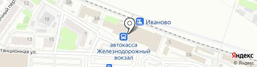 Модный букет на карте Иваново