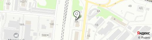 ДизельАвто на карте Костромы