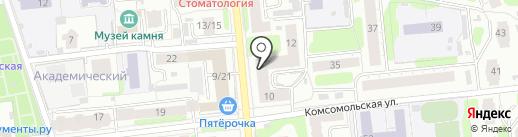 ПожКраска, НП на карте Иваново
