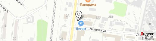 Сантехник на карте Костромы