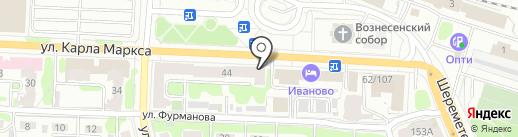 Виктория на карте Иваново