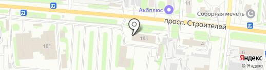 Ивановский пассажирский транспорт, МУП на карте Иваново