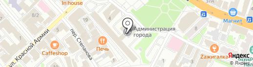 Управление жилищно-коммунального хозяйства на карте Иваново