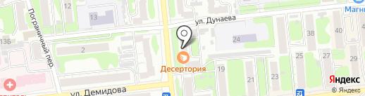 Стеклоцентр на карте Иваново