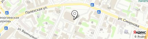 Сервисный центр по ремонту тонометров и глюкометров на карте Иваново
