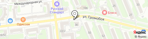Перекресток на карте Иваново