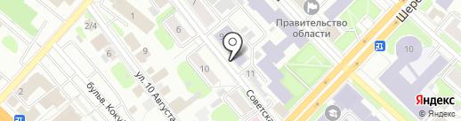 Ивановское музыкальное училище на карте Иваново
