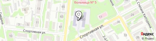 Средняя общеобразовательная школа №37 на карте Иваново