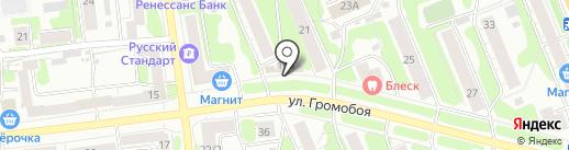 Алексо на карте Иваново