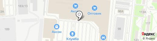 Цветочная база №1 на карте Иваново