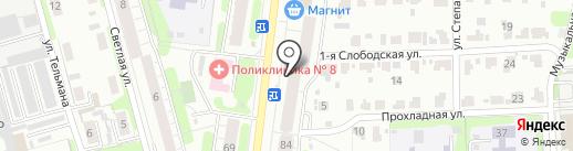 Магазин овощей и фруктов на карте Иваново