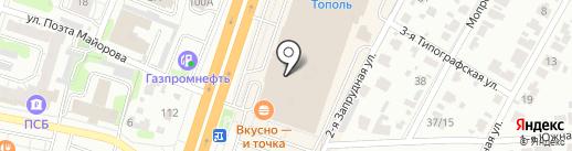 Белый город на карте Иваново