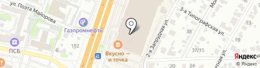 Шереметевский проспект на карте Иваново