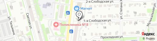 Сотовые на карте Иваново
