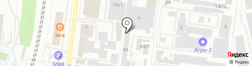 Автомагазин на карте Костромы