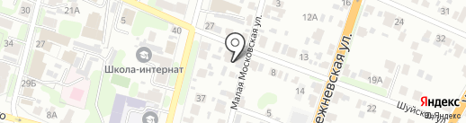 Блик на карте Иваново