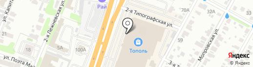 Волшебный кот на карте Иваново