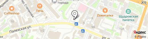 Талисман на карте Иваново