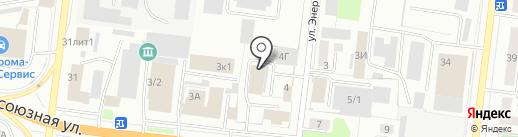 Главдоставка на карте Костромы