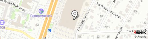 Океан обуви на карте Иваново