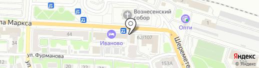 МегаROST на карте Иваново