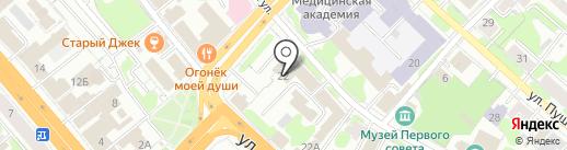 Перспектива-конс на карте Иваново
