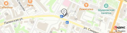 МНПХ Созвездие на карте Иваново