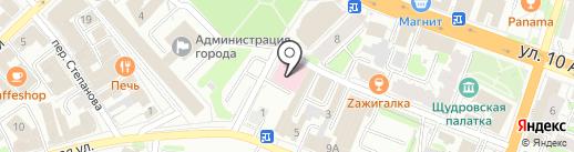 Лексикон на карте Иваново