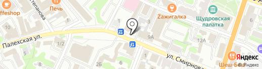 Магазин фруктов и овощей на карте Иваново