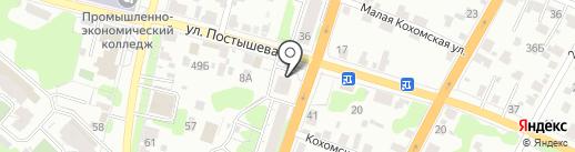 Партнер-Инвест на карте Иваново