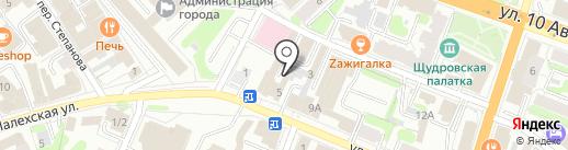 УКВ на карте Иваново