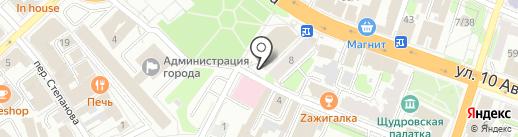 Клубок на карте Иваново