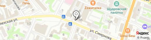 Brisa на карте Иваново