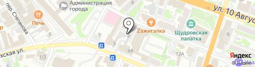 Haze на карте Иваново