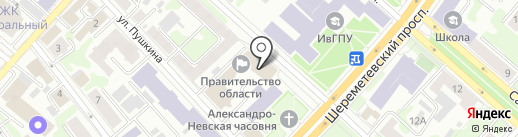 Кухни Класс на карте Иваново