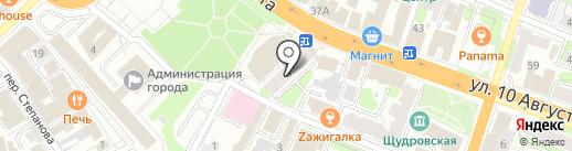 НИКС на карте Иваново