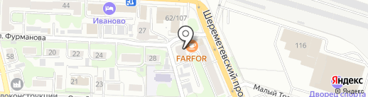 Каюта на карте Иваново